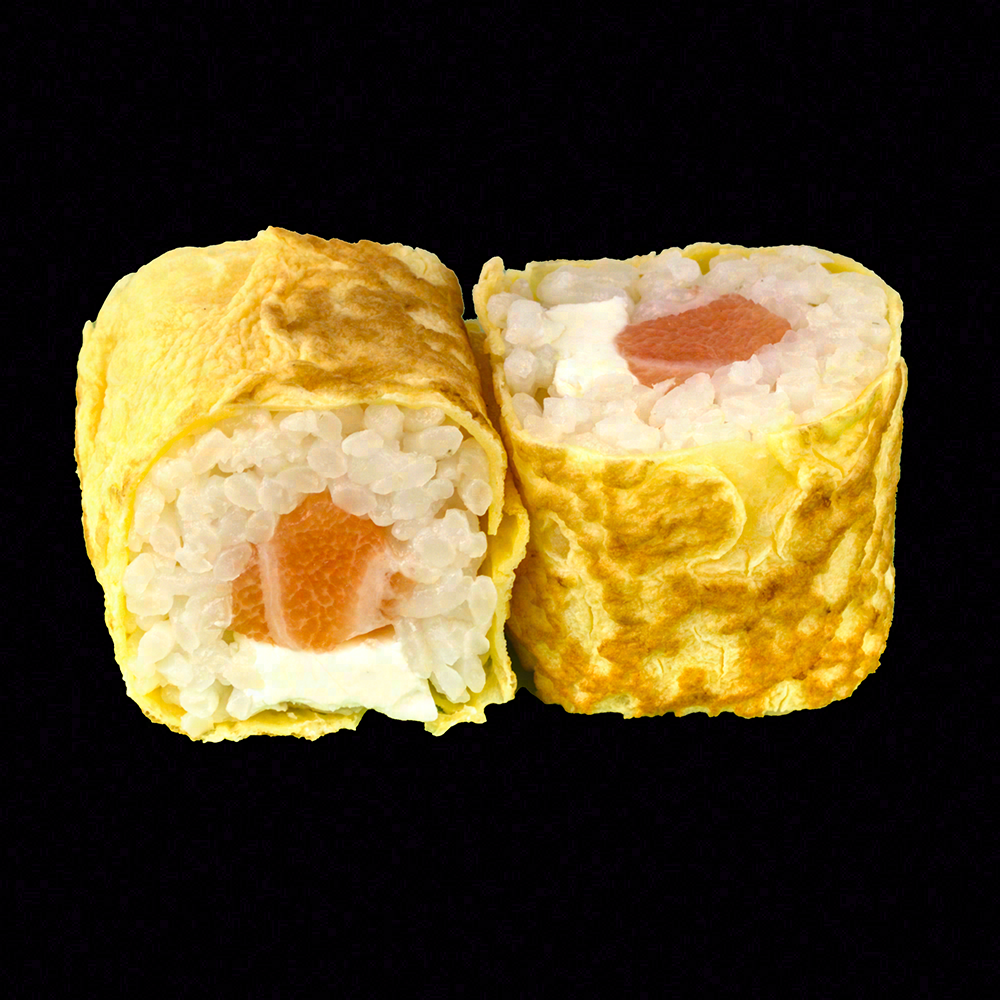 Tamago Roll Cheese saumon